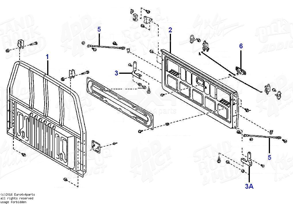 [FL_2698] Toyota Tailgate Diagram Download Diagram