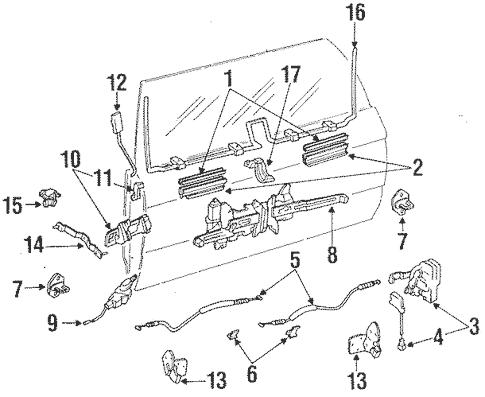 [ZE_6023] Toyota Tailgate Diagram Schematic Wiring