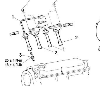 [RW_2124] 2003 Toyota Corolla Exhaust System Diagram