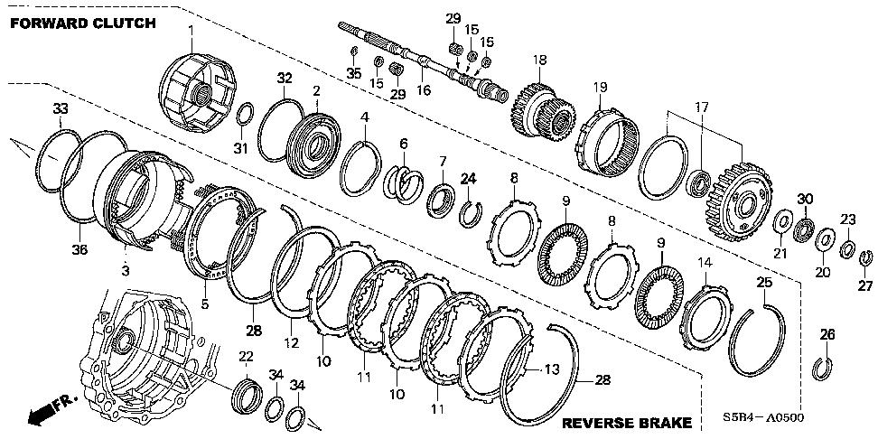 [CH_4625] Honda Civic Cvt Transmission Diagram Schematic