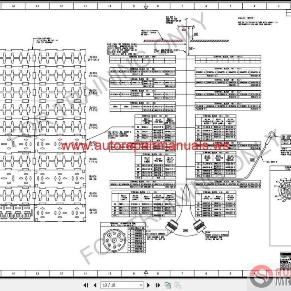 1999 Kenworth W900 Fuse Panel Diagram / 99 Camry Fuse Box