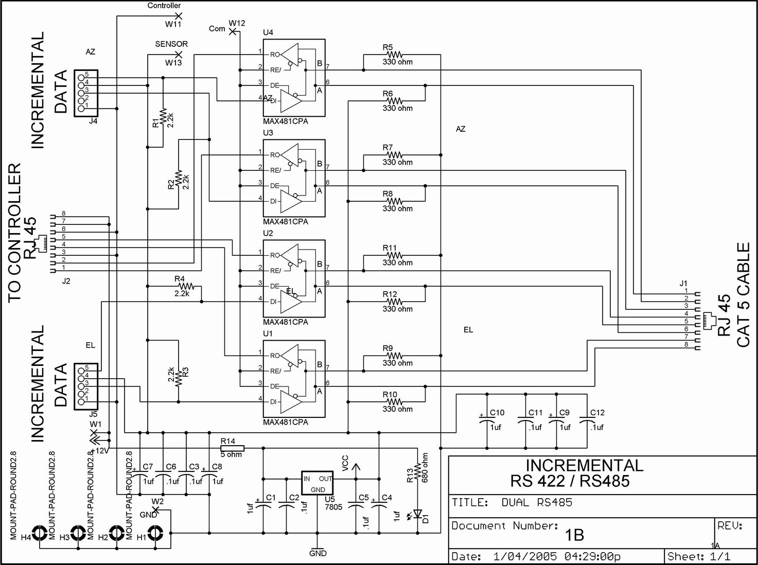 [SY_4917] Rs485 Db9 4 Wiring Diagram Free Diagram