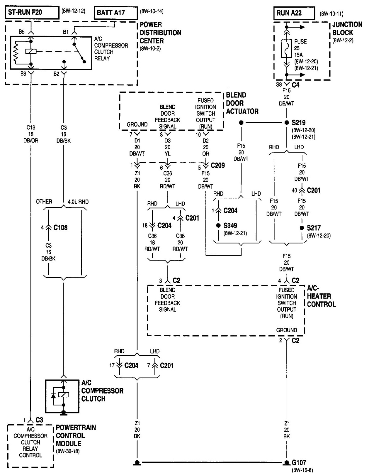 2006 Jeep Grand Cherokee Stereo Wiring Diagram