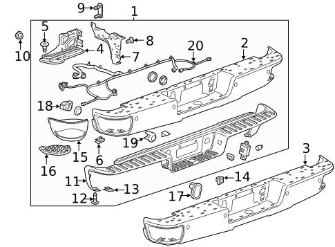 [KX_1600] Gmc Sierra Replacement Parts Motor Repalcement