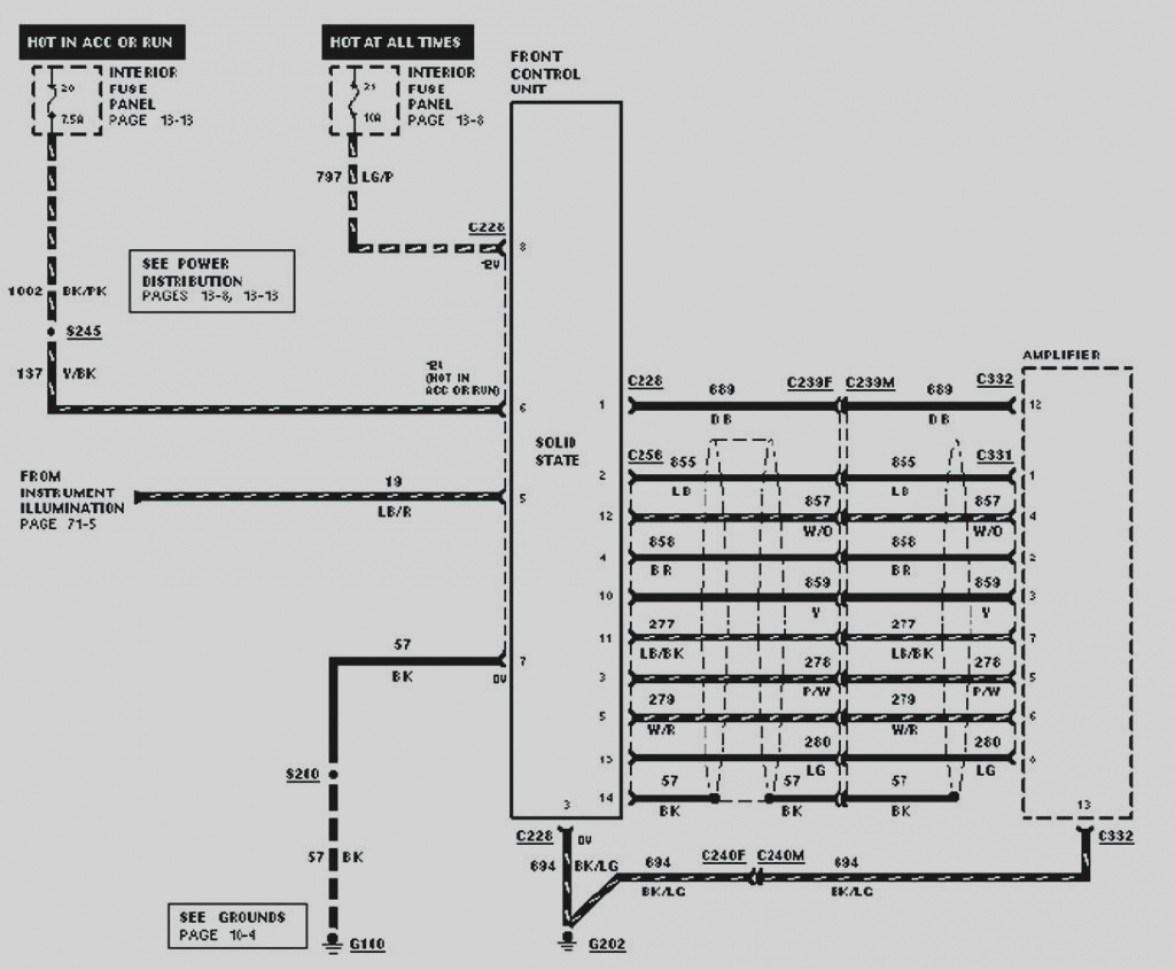 Radio Wiring Diagram Ford Explorer