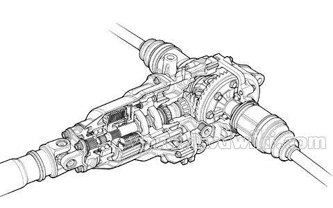 [NX_9142] Honda Crv Rear Axle Diagram Free Diagram