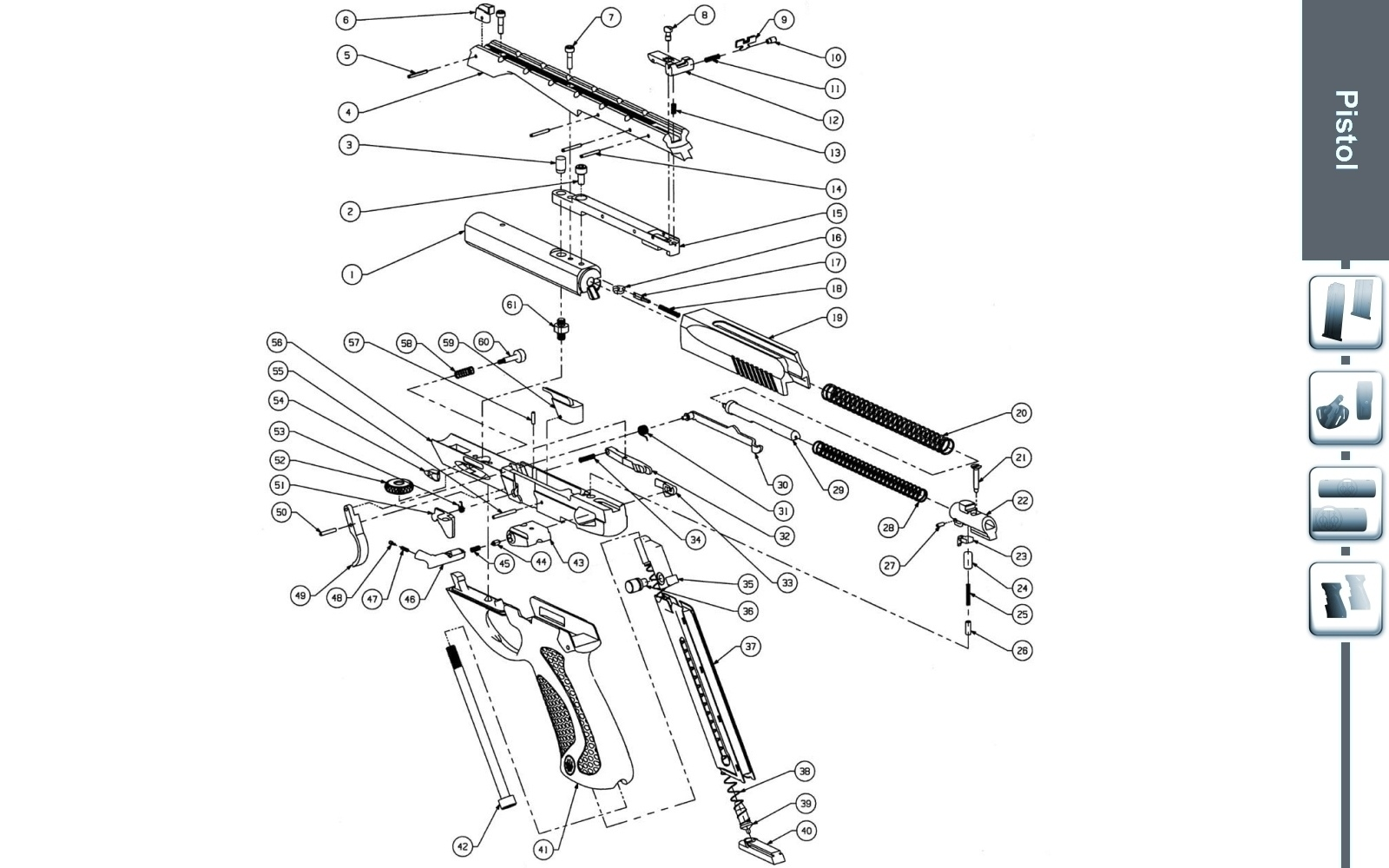 [DH_7387] Beretta 92 Parts Diagram Free Diagram