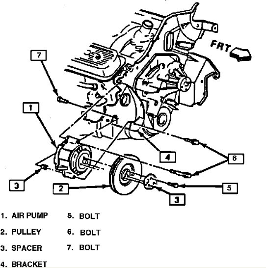 1989 Chevy 350 Engine Diagram : 1990 Chevy 350 Engine
