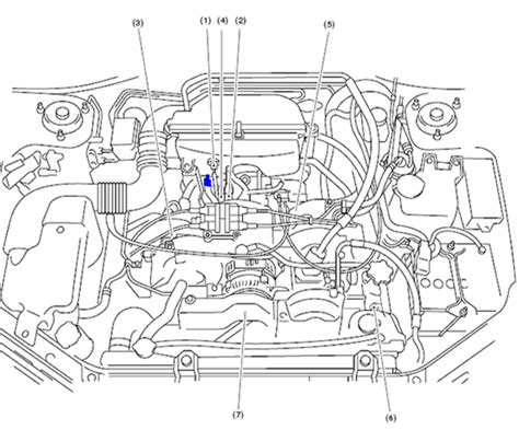 [TS_0010] Subaru Headlight Diagram Schematic Wiring