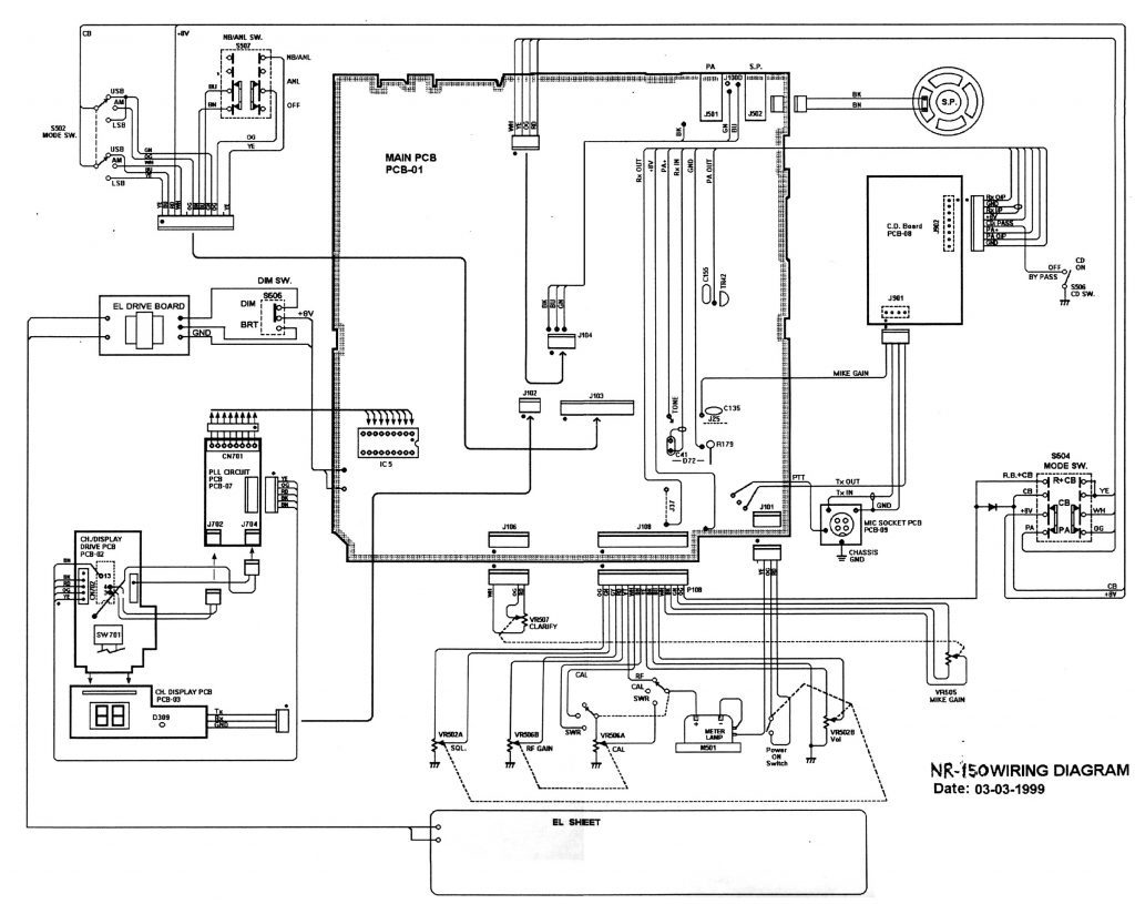 [TH_9468] Power Supply Schematic Diagram Also Yaesu Md 100