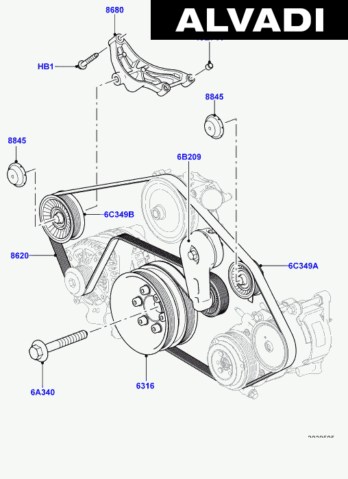[XH_7136] Rover Discovery Serpentine Belt Diagram On Land