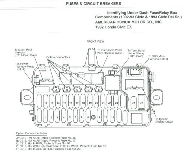 [XF_0633] Honda Accord Vacuum Diagram Download Diagram