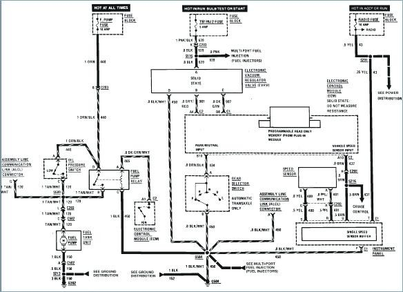 [FX_4322] Fiero Radio Wiring Diagram Schematic Wiring
