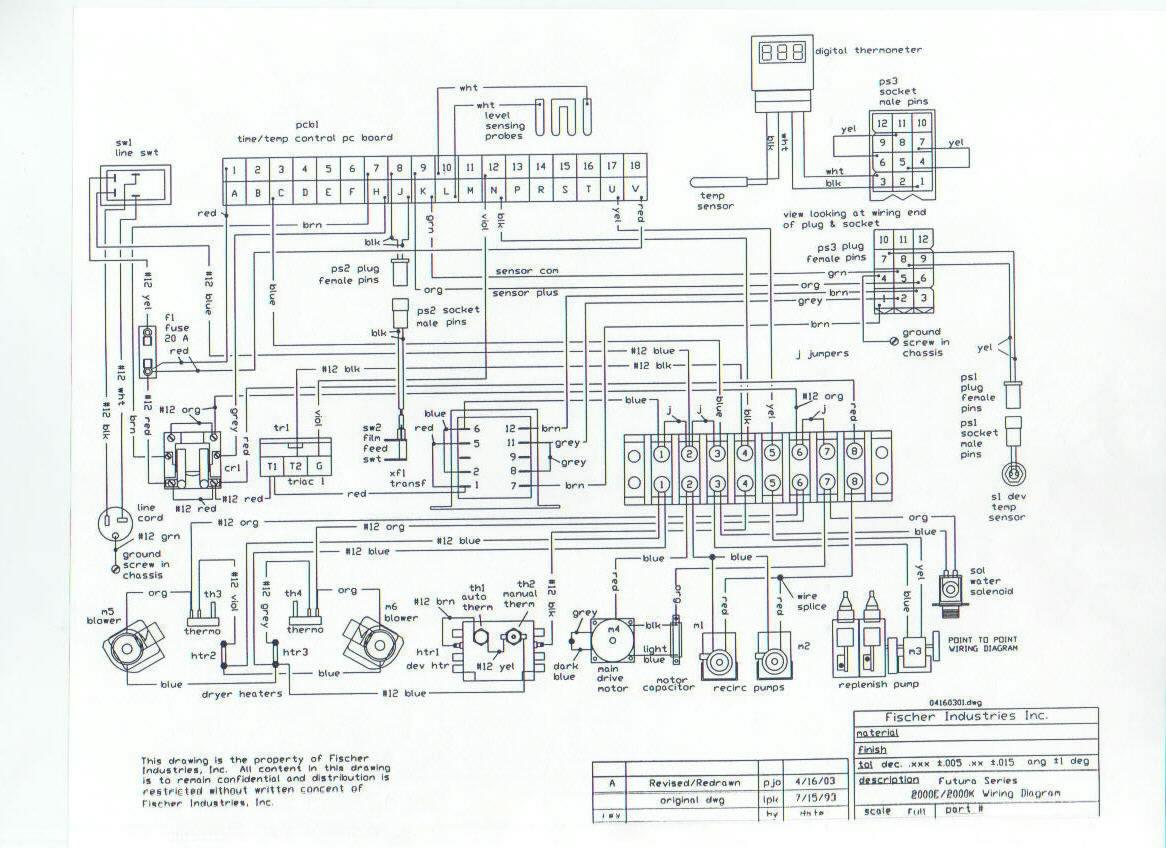 Hydro-Quip Wiring Diagram : Hydro Quip Circuit Board Pcb