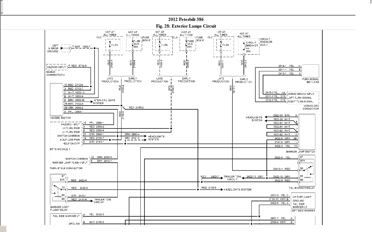 [DIAGRAM] Peterbilt 357 Wiring Diagrams FULL Version HD