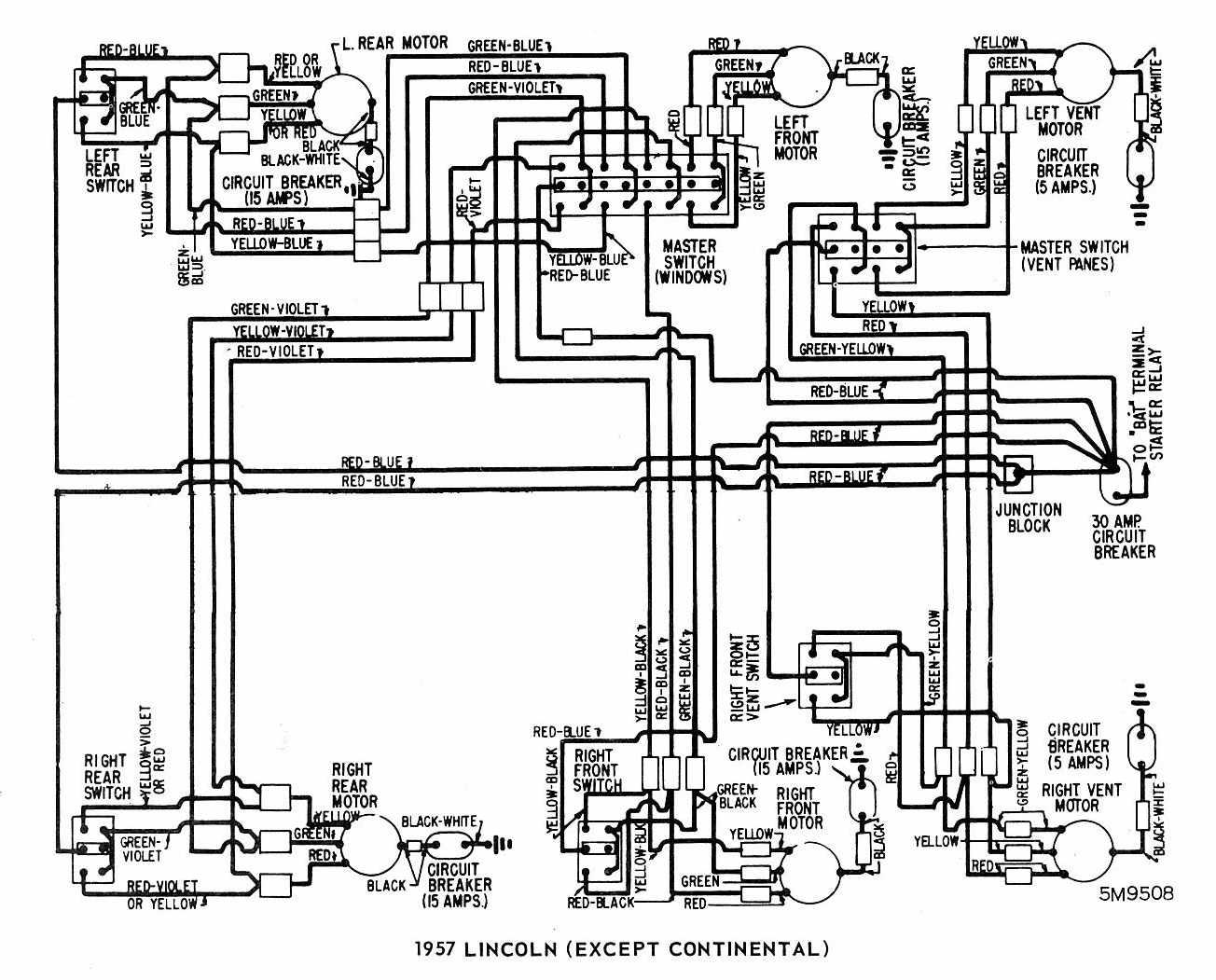 Lincoln K870 Wiring Diagram