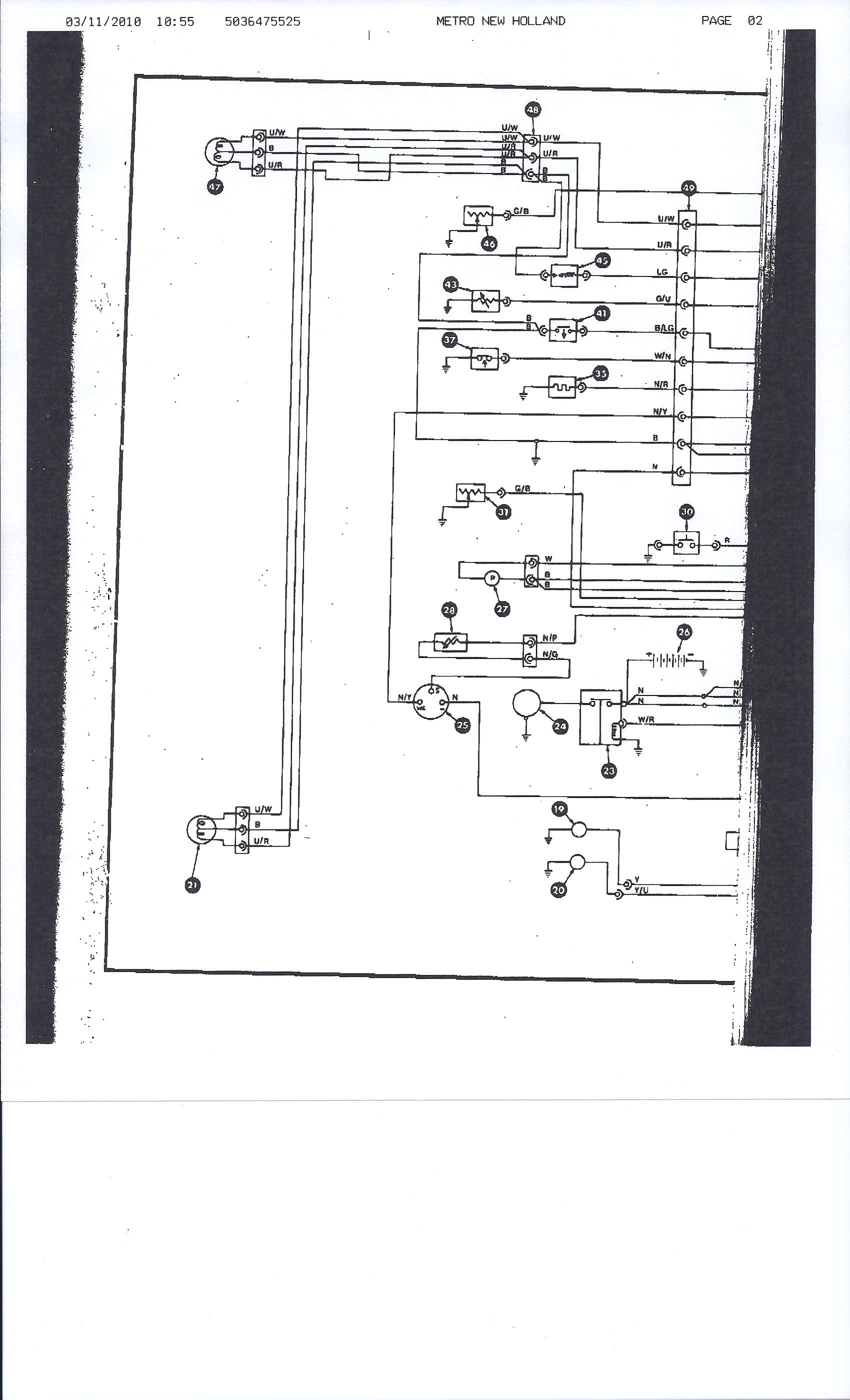 New Holland Wiring Diagram