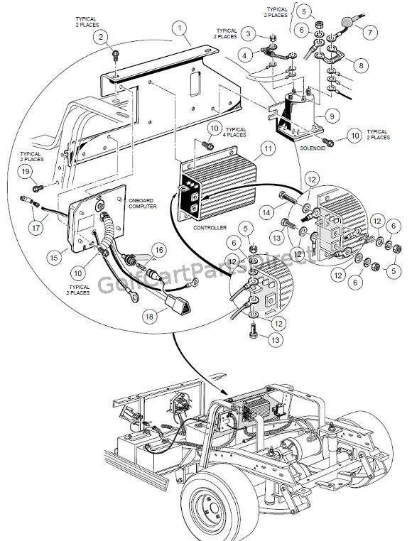 Lf 7427 Wiring Diagram Additionally 48 Volt Club Car Wiring