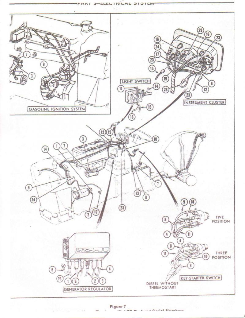 Ford 3000 Tractor Starter Solenoid Wiring Diagram