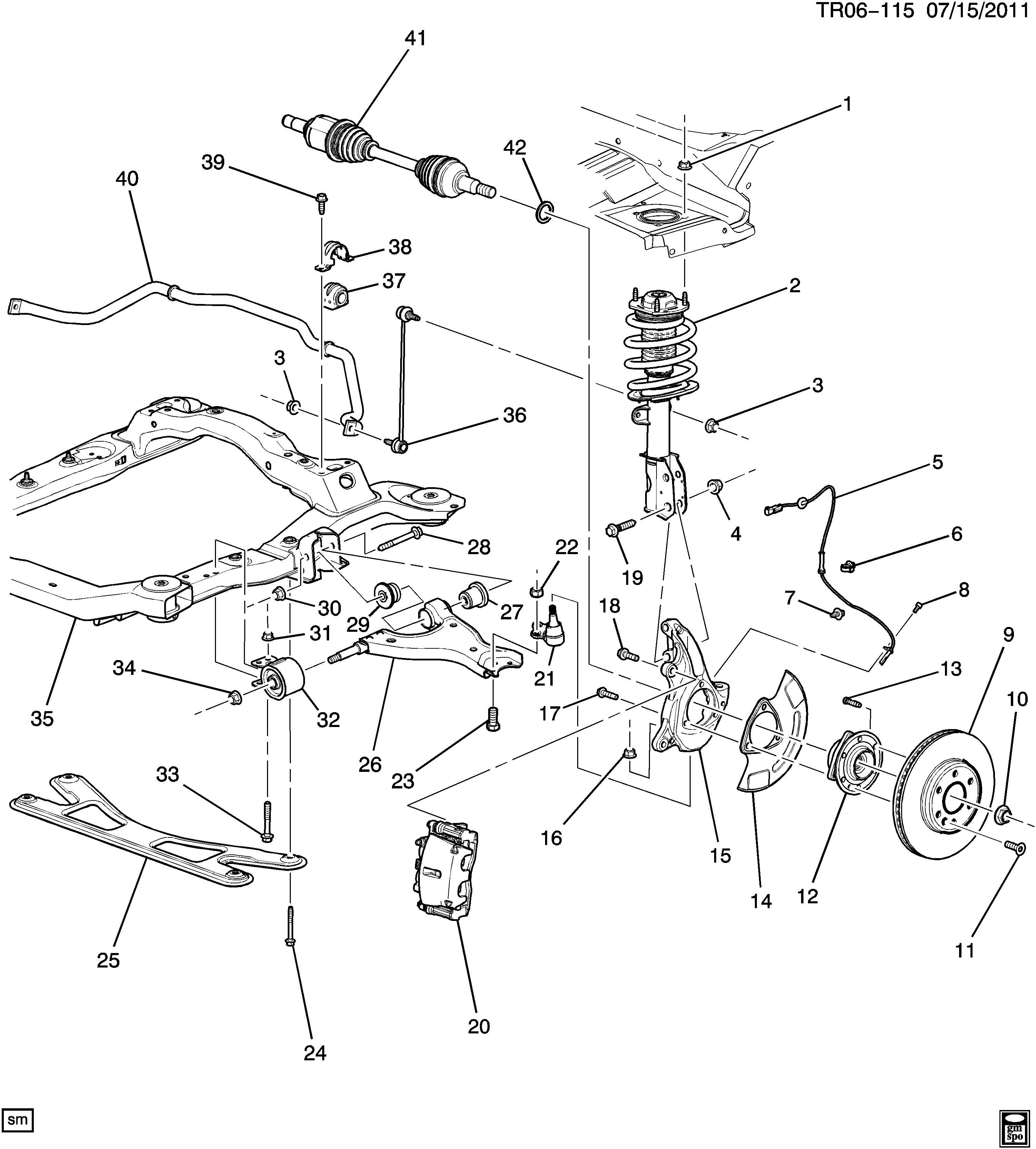 [FV_2019] 2011 Chevy Traverse Parts Diagrams Auto Parts