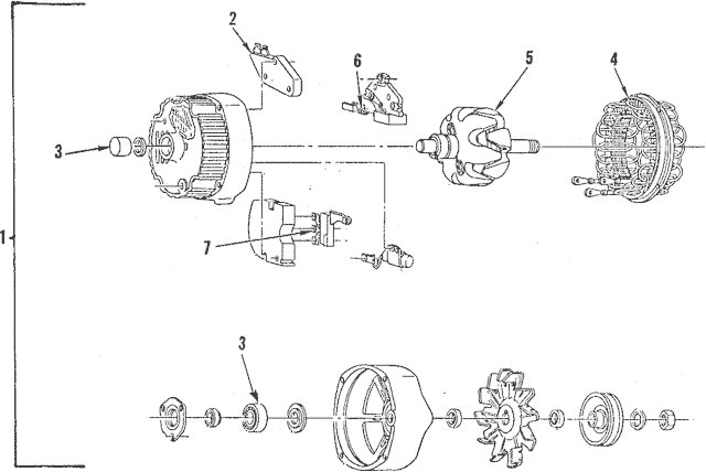 [EM_5580] Gm Alternator Parts Diagram Wiring Diagram