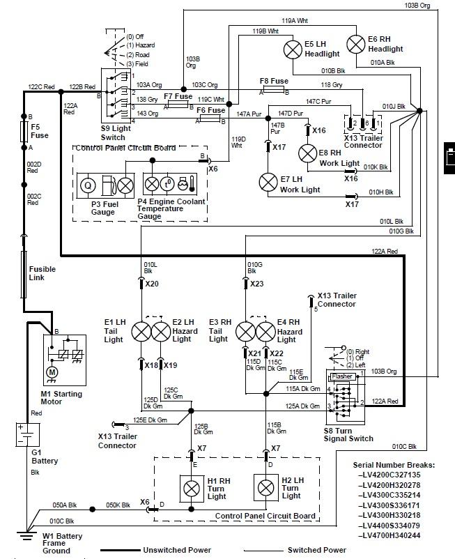 [NW_9348] John Deere 5425 Dash Wiring Diagram Download Diagram