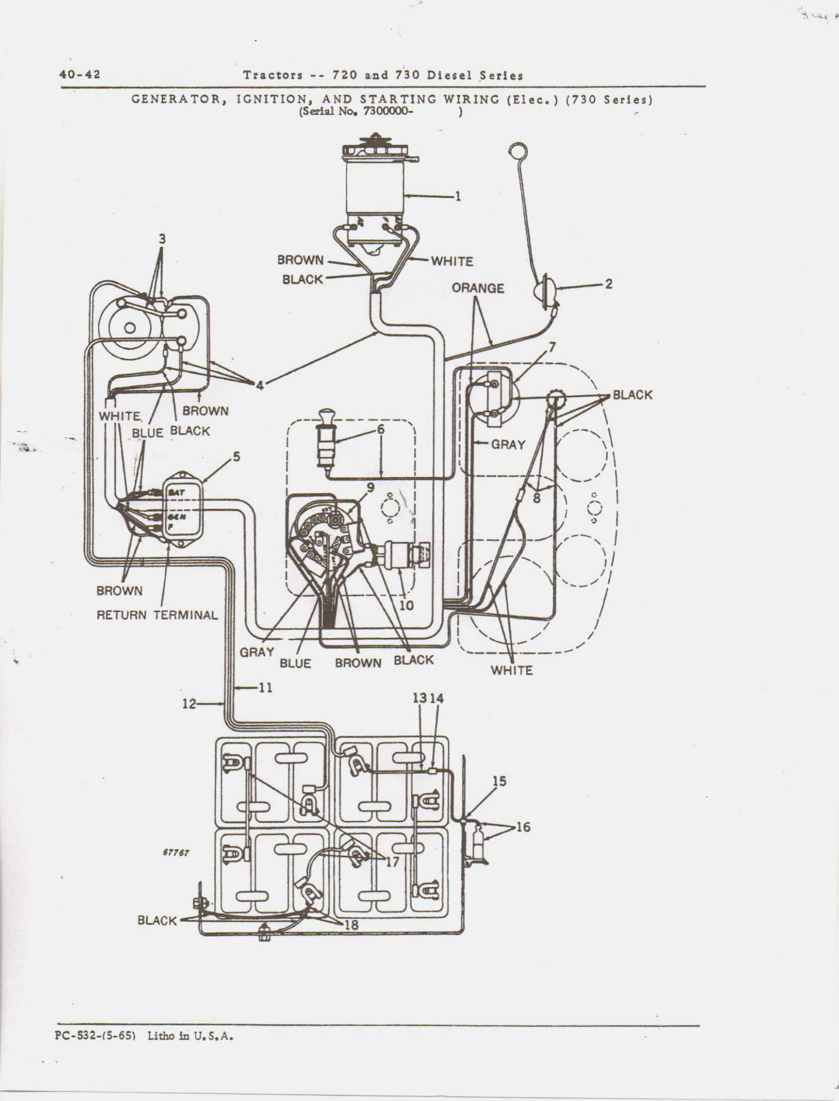 [MM_9924] John Deere 310C Backhoe Wiring Diagram John