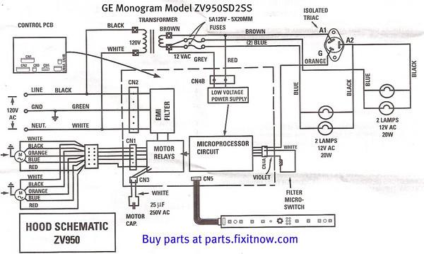 [WL_2894] Ge Refrigerator Wiring Diagram Schematic Wiring