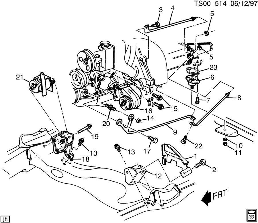 [GN_8503] 1995 Chevy S10 Engine Diagram Schematic Wiring