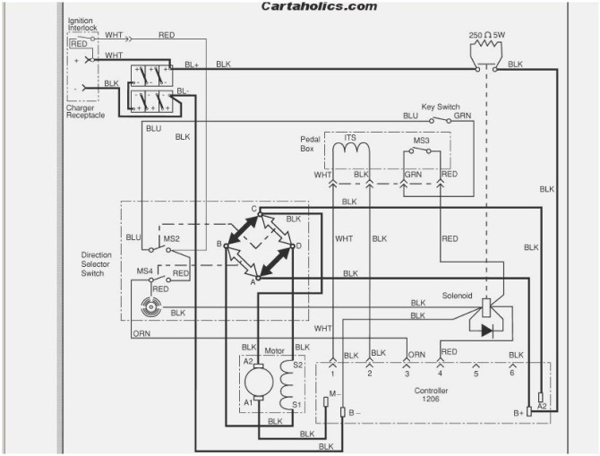 ca3004 golf cart wiring diagram also 1994 ezgo golf cart
