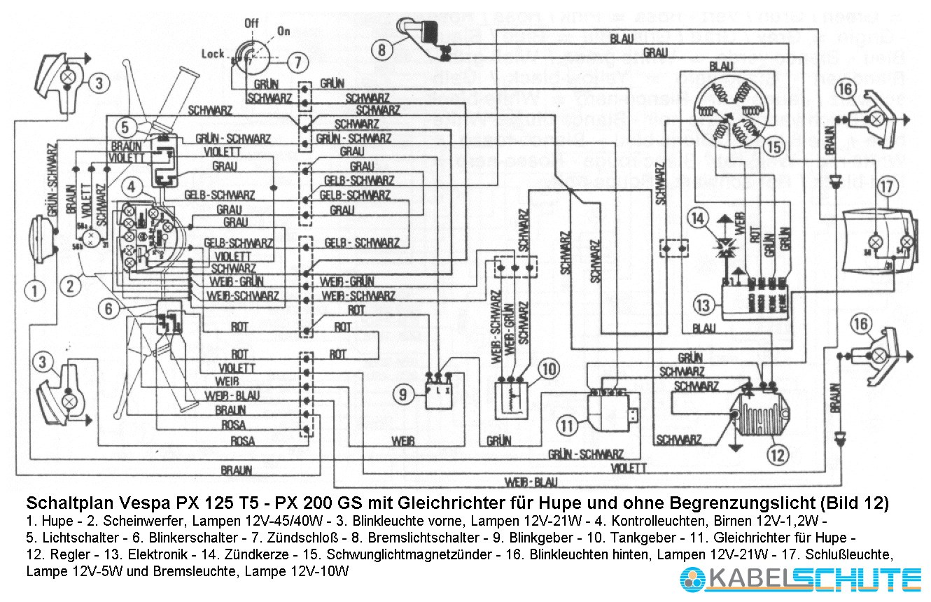 [CX_8483] Vespa Px Mk1 Wiring Diagram Wiring Diagram