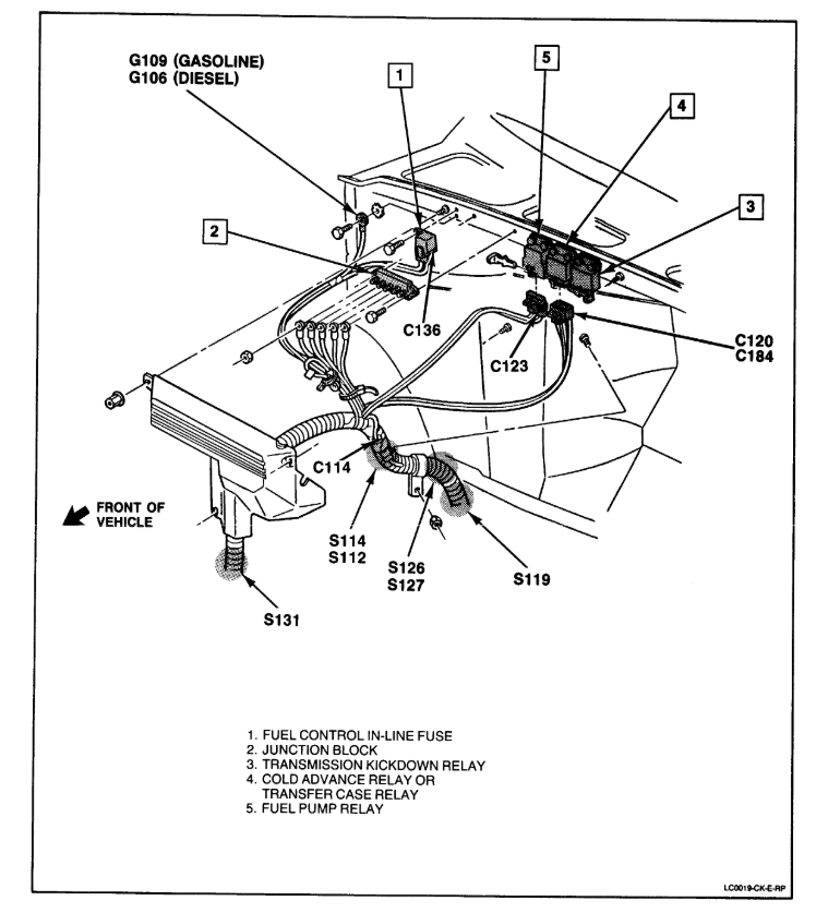 [LC_4321] 14089936 Relay Wiring Diagram Free Diagram
