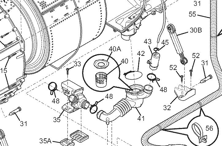 [RF_3632] Whirlpool Duet Washer Parts Diagram Besides
