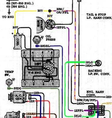 1972 chevy truck starter wiring  wiring diagram ground