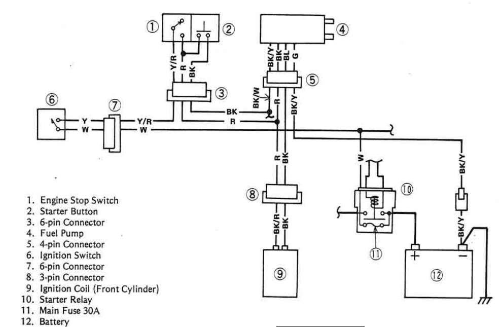 Wiring Diagram Kawasaki Vulcan 1500 / 1993 Gmc Sierra