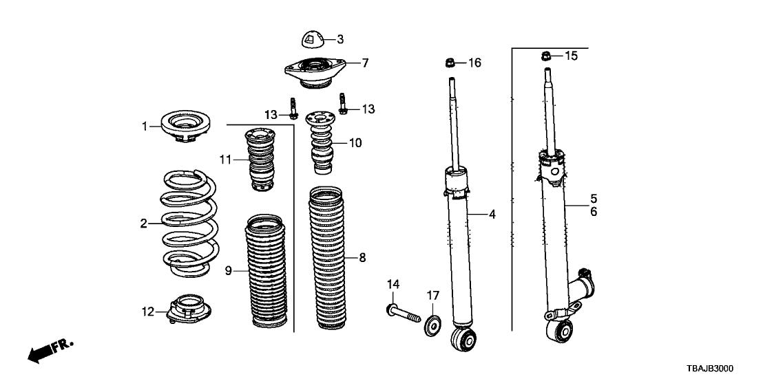 [YA_5119] Honda Civic Rear Suspension Diagram Download Diagram