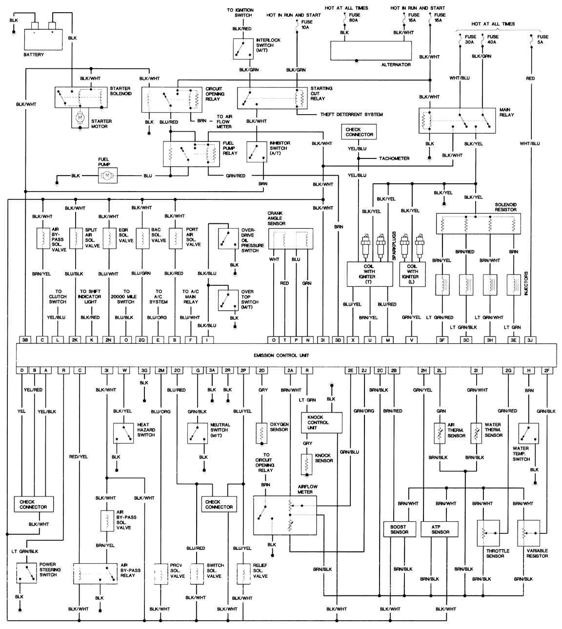 [KR_3331] Tach Wire Diagram Output Together With Microtech