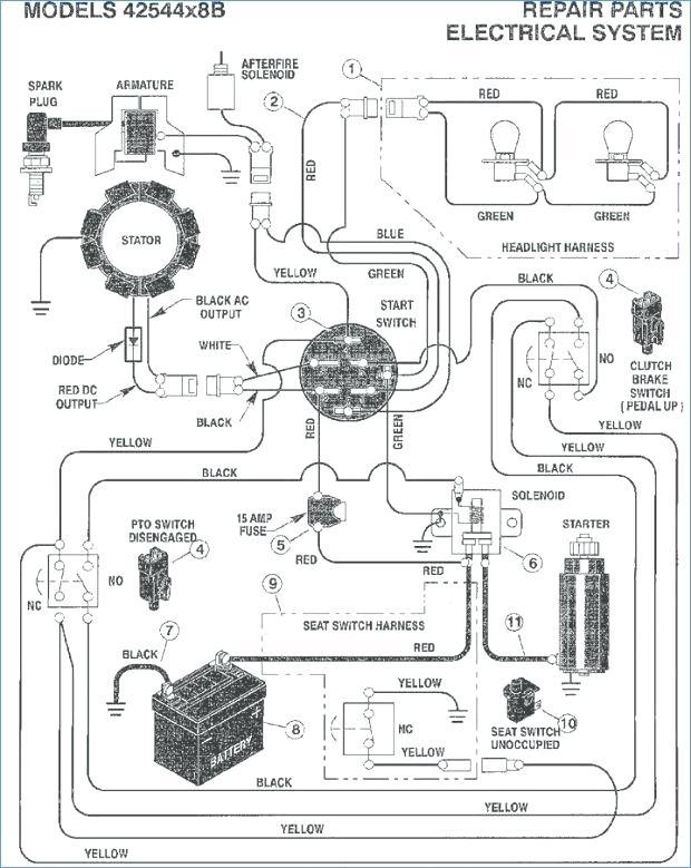 [DK_0442] John Deere Walk Behind Mower Wiring Diagram