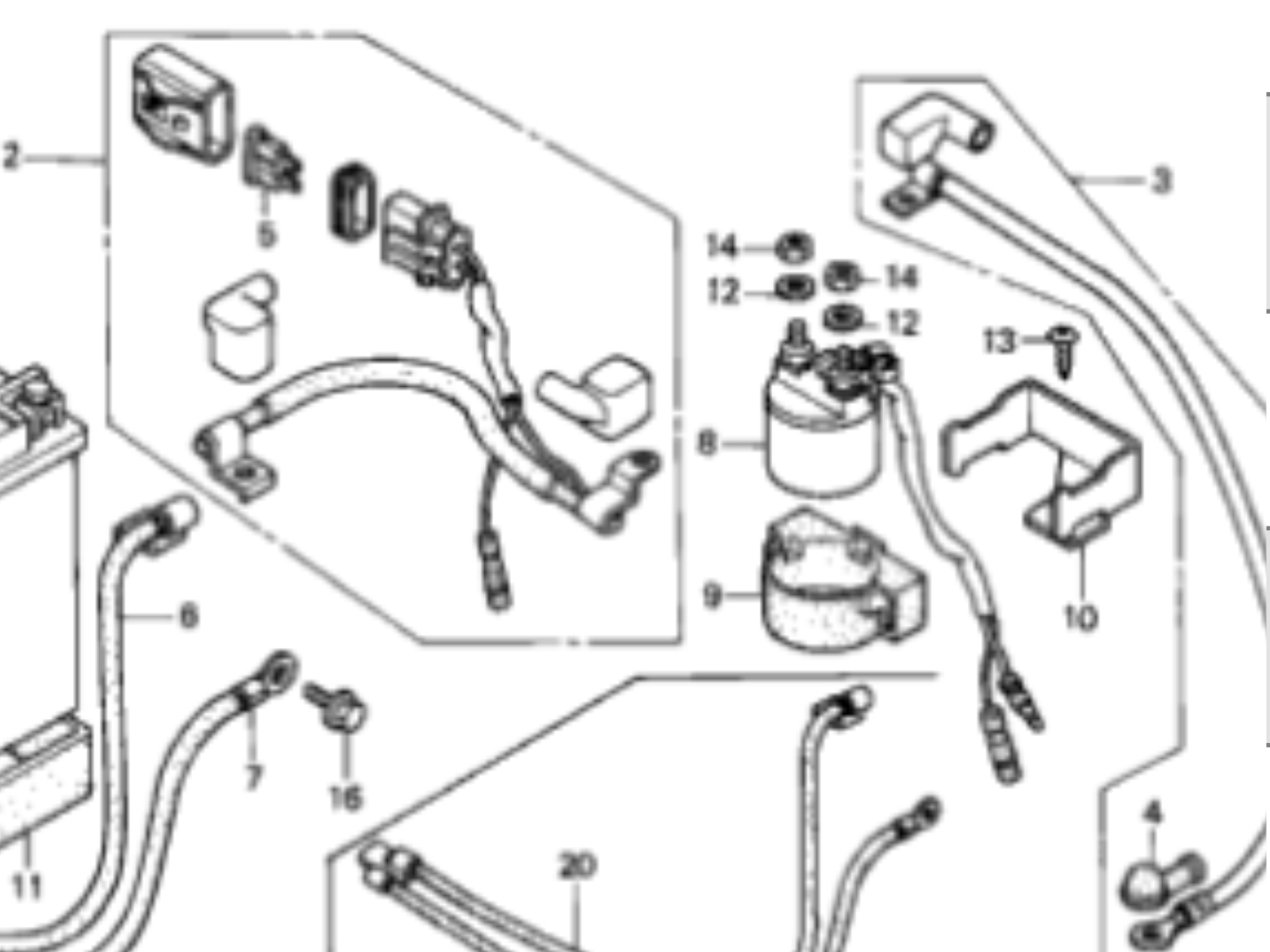 [GE_1339] Diagram Of Honda Atv Parts 2004 Trx250Tm A