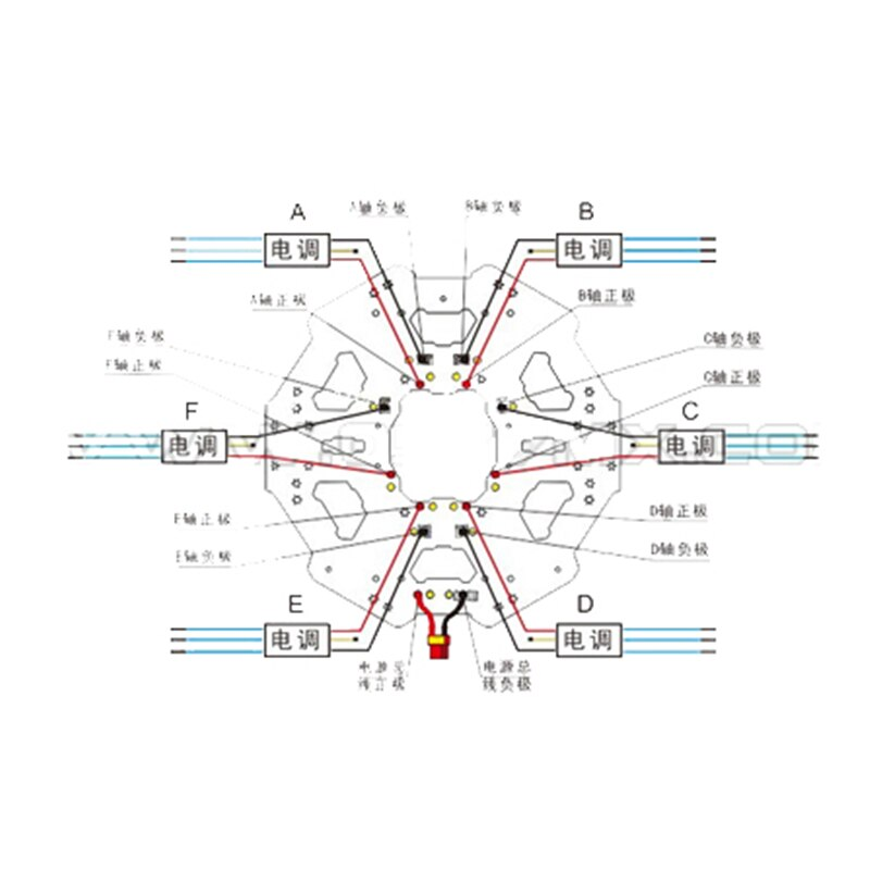 [FA_9941] Hexacopter Wiring Diagram Schematic Wiring