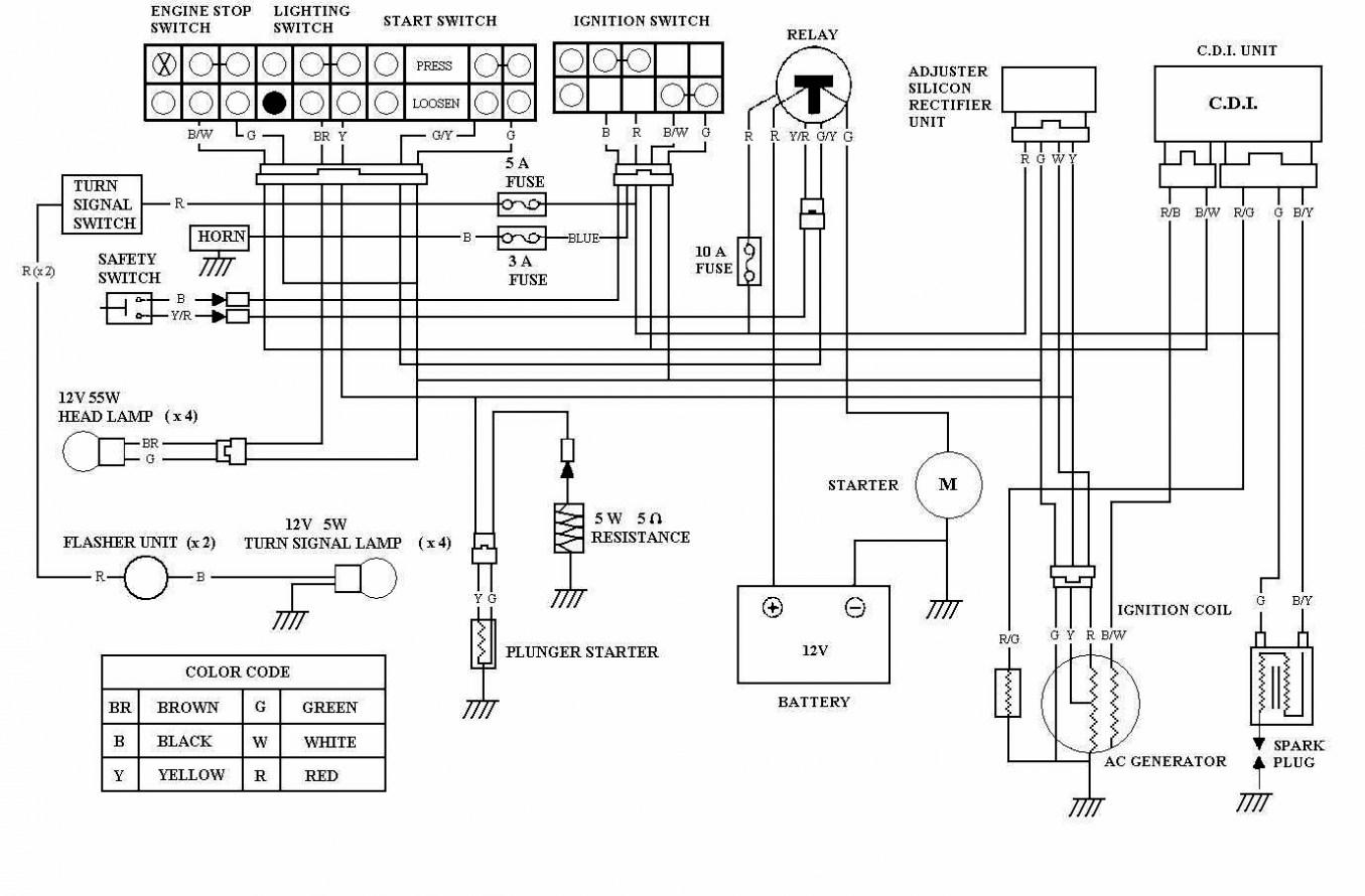 Gy6 Wiring Diagram 150cc