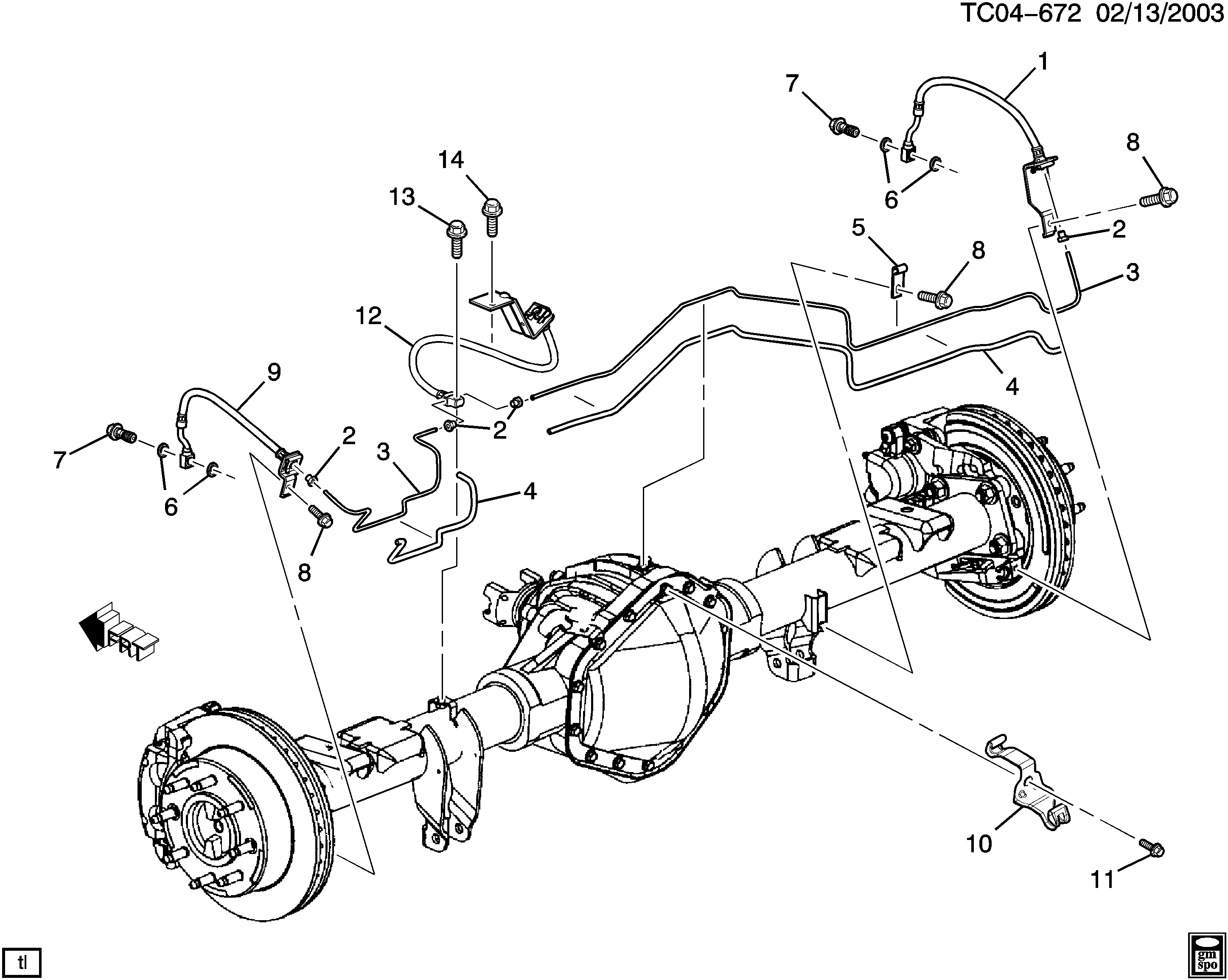 Fg Silverado Brake Line Diagram Wiring Diagram