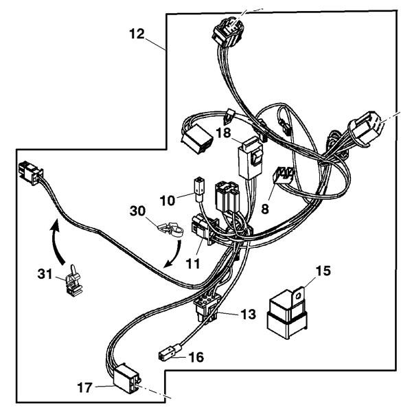 [RR_4126] John Deere L110 Wiring Harness Wiring Diagram