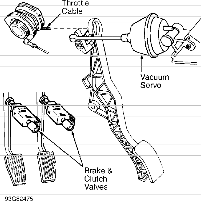 [ZO_3672] Gas Pedal Schematic Free Diagram