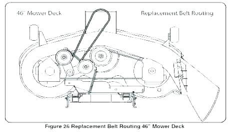 [ZH_5525] Craftsman Mower Deck Diagram Craftsman Lawn