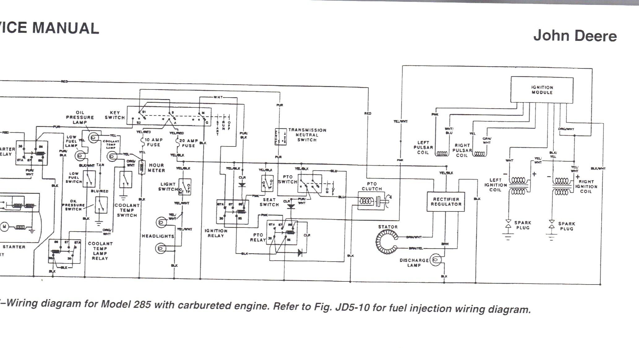 John Deere 170 Lawn Tractor Wiring Diagram
