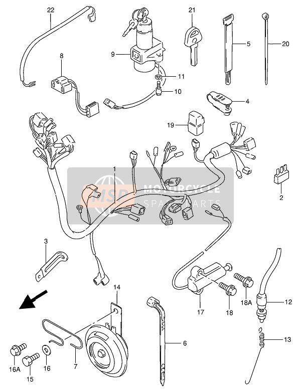 [ET_5103] Suzuki Gn250 Wiring Diagram Wiring Diagram