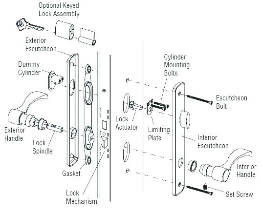 [TL_9759] Door Lock Parts Diagram Door Lock Parts Diagram