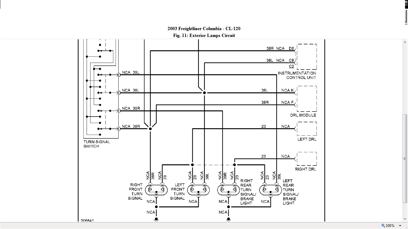 2007 Freightliner Columbia Headlight Wiring Diagram