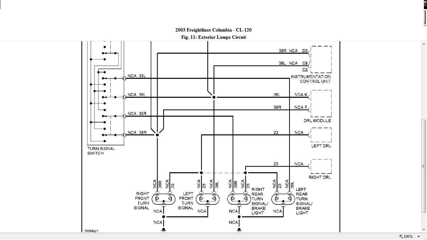 2007 Freightliner Columbia Headlight Wiring Diagram